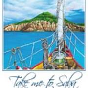 Take Me To Saba Art Print