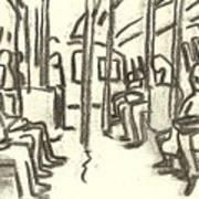 Take The A Train, Nyc Art Print