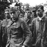 taken prisoner in Normandy Art Print