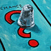 Taking A Chance Art Print