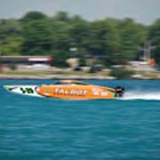 Talbot Offshore Racing Art Print