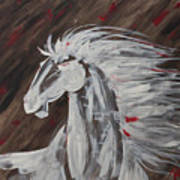 Tale Of The Wind Horse Art Print