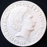 Talent Of Stefano Bollani As Byzantine Emperor In Girum Imus Nocte Et Consumimur Igni Art Print by Marino Ceccarelli Sculptor
