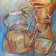Talkin Teapots Art Print