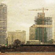 Tall Buildings Art Print