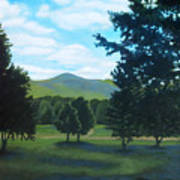 Tall Pines Surround Your Green Hills Art Print