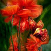 Tall Poppies Art Print