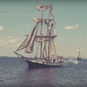 Tall Ship - 3 Art Print