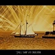 Tall Ship At Duluth Art Print