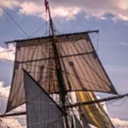 Tall Ship Sails 6 Art Print