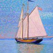 Tall Ship Virginia Entering Halifax Harbour Art Print