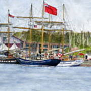 Tall Ships Festival Art Print