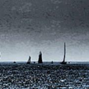Tall Ships Halifax 2017 - Parade Of Sail Art Print
