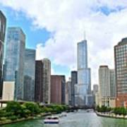 Tall Towers In Chicago Art Print
