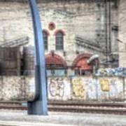 Tallin Graffiti Station Art Print