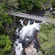 Tallulah Falls Bridge Art Print