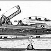 Talon Vs. Hornet Art Print
