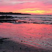 Tamarindo Sunset Art Print