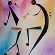 Tambourine Jam Art Print