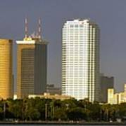 Tampa And Bayshore Art Print