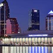 Tampa Convention Center Art Print