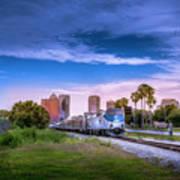 Tampa Departure Art Print