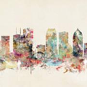 Tampa Florida Art Print