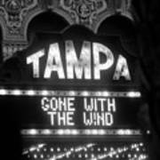 Tampa Theatre Gone With The Wind Art Print