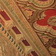 Tampa Theatre Ornate Ceiling Art Print