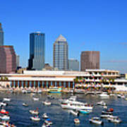 Tampa's Day Panoramic Art Print