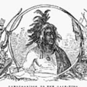 Tanacharison (c1700-1754) Art Print