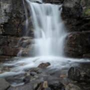Tangle Creek Falls, Alberta, Canada Art Print