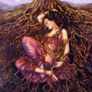 Tangled Art Print by Janet Chui