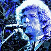 Tangled Up In Blue, Bob Dylan Art Print