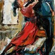 Tango By The Window Art Print