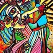 Tango Dance Of Love Art Print