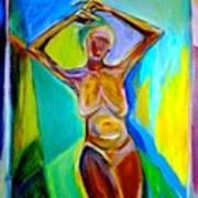 Tango For One Art Print