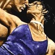 Tango Heat Art Print
