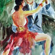 Tango In The Night Art Print