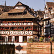 Tanners House Strasbourg Art Print by Louise Heusinkveld