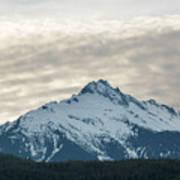 Tantalus Mountain Range Closeup Art Print