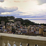 Taormina Balcony View 2 Art Print
