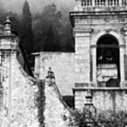 Taormina Church Detail Art Print