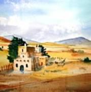 Taos Adobe Art Print