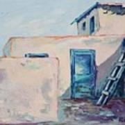 Taos Dwelling Art Print