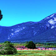 Taos Mountains Art Print
