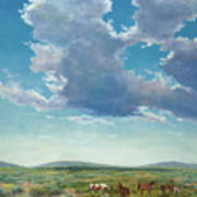 Taos Mustangs Art Print