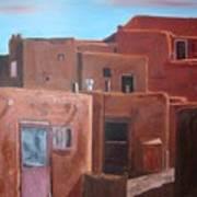 Taos Pueblo Viii Art Print