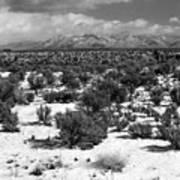 Taos Snowfall Art Print