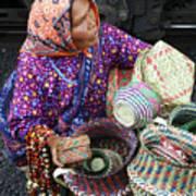 Tarahumara Basket Vendor Art Print